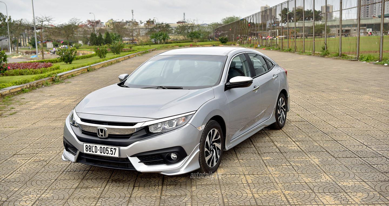 Tìm hiểu nhanh Honda Civic 1.8E CVT giá 758 triệu