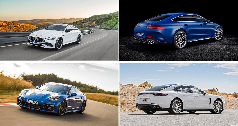 Chọn Mercedes-AMG GT hay Porsche Panamera?