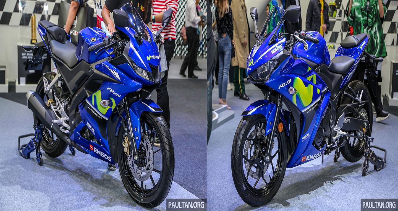 Soi bộ đôi Yamaha YZF-R15 và R3 2018 phiên bản Movistar