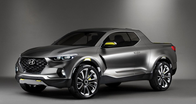 Bán tải Hyundai Santa Cruz sẽ ra mắt trong 2 năm tới