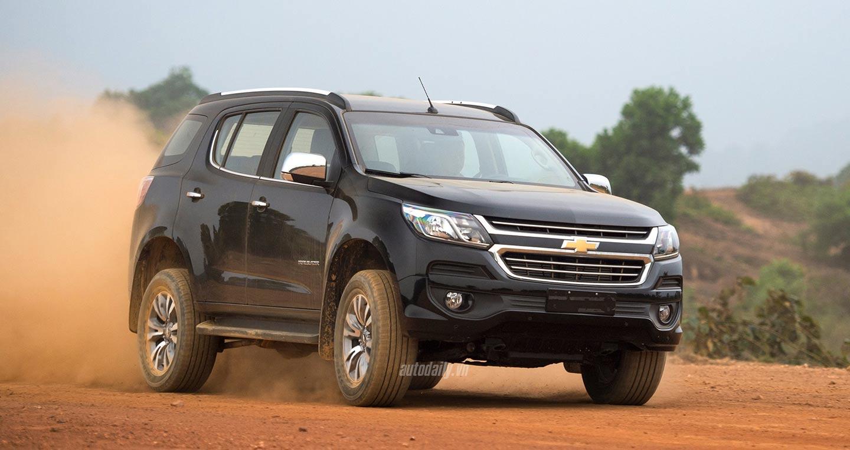 Chevrolet Trailblazer giảm đến 80 triệu đồng trong tháng 5