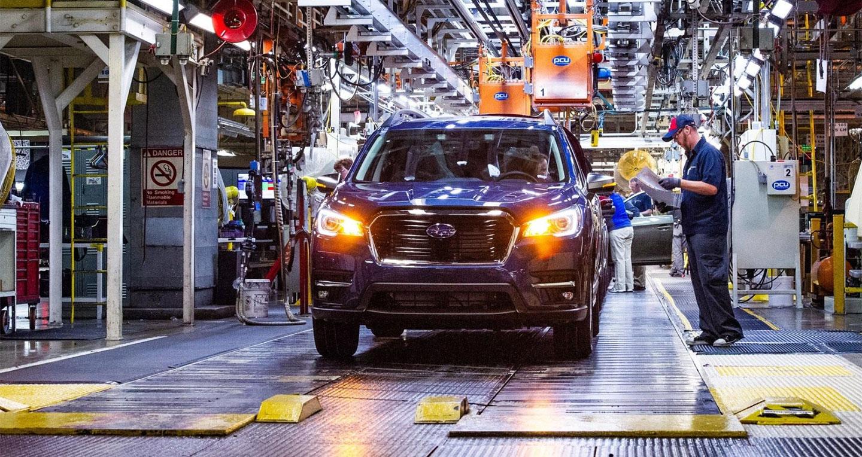 Subaru Ascent 2019 đi vào sản xuất