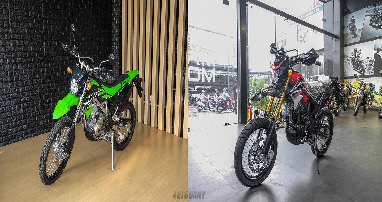 Với 79 triệu đồng, chọn Kawasaki KLX 150BF hay D-Tracker 150?