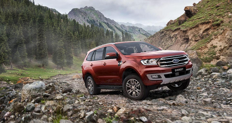 Ford Everest 2019 trang bị hộp số 10 cấp