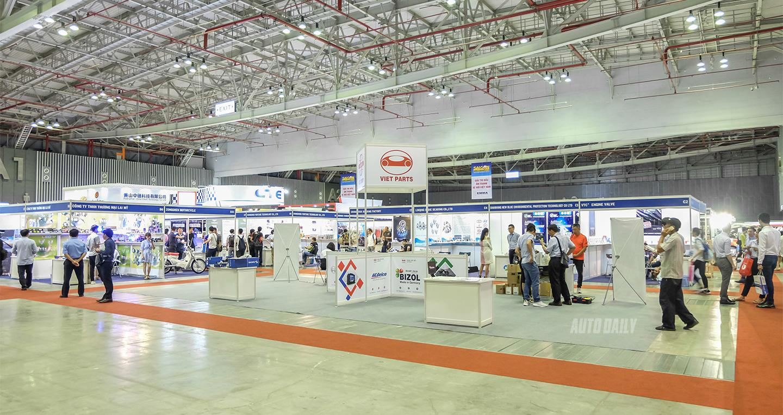 Triển lãm Saigon Autotech lần thứ 14 chính thức khai mạc