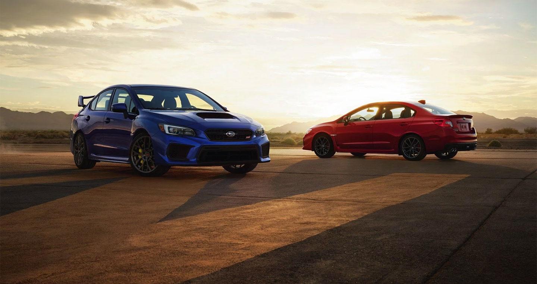 Subaru WRX và WRX STI 2019 thêm bản giới hạn
