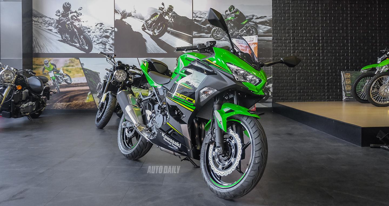 Chi tiết Kawasaki Ninja 250 2018 giá 133 triệu