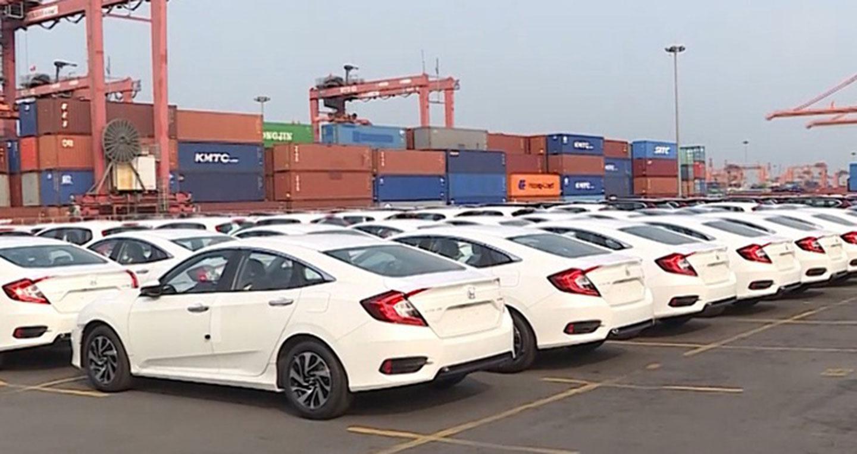Gần như toàn bộ ôtô nhập khẩu tuần qua có xuất xứ Thái Lan