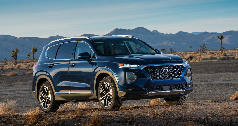 Hyundai Santa Fe 2019 chốt giá từ 25.500 USD