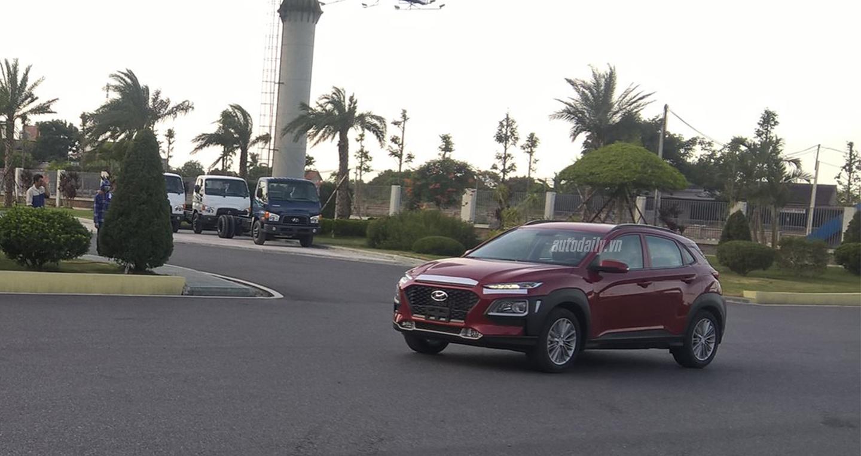 Ảnh nóng Hyundai KONA tại Việt Nam