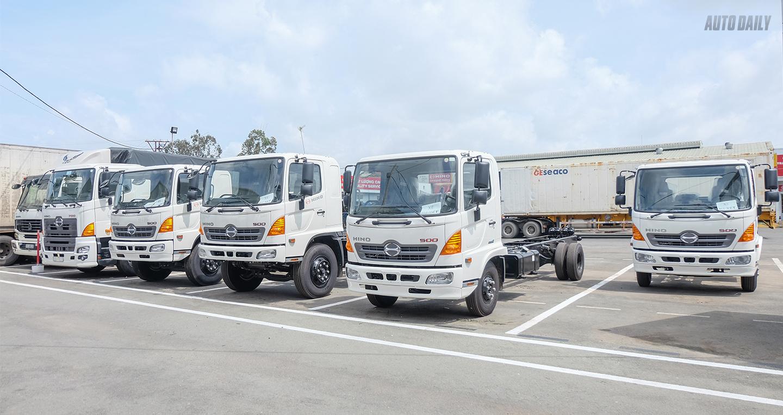Hino Motor Việt Nam giới thiệu dòng xe tải chuẩn Euro 4 mới