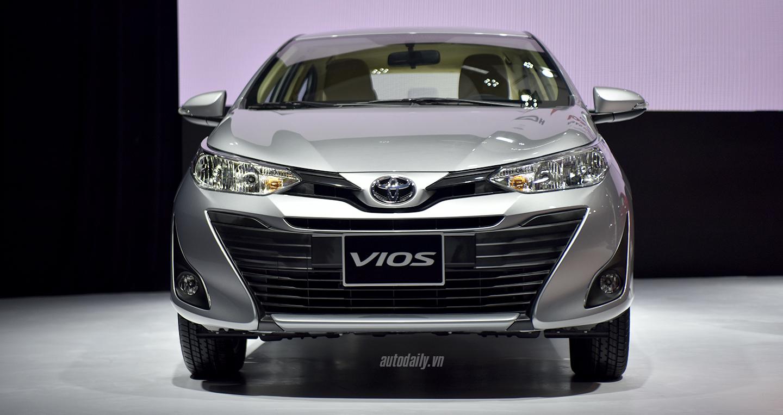 Toyota Vios 2018 chính thức ra mắt, giá từ 531 triệu đồng