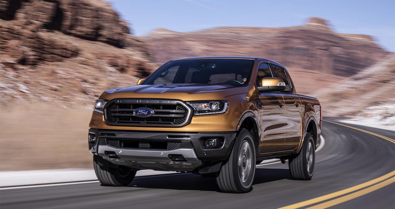 Ford Ranger 2019 rò rỉ giá bán từ 24.300 USD