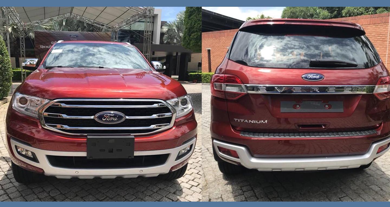 Ford Everest 2018 chốt ngày ra mắt tại Việt Nam