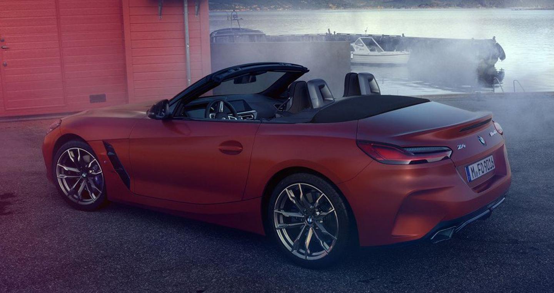 Rò rỉ hình ảnh BMW Z4 2019 trước ngày ra mắt