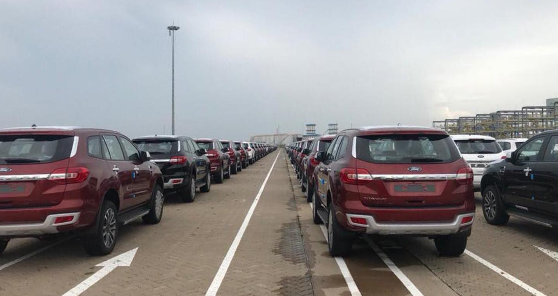Hơn 9.000 ôtô nhập khẩu về Việt Nam trong tháng 8