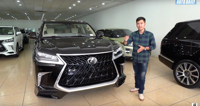 Lexus LX570 2018 độ 4 chỗ cực chất vừa về VN