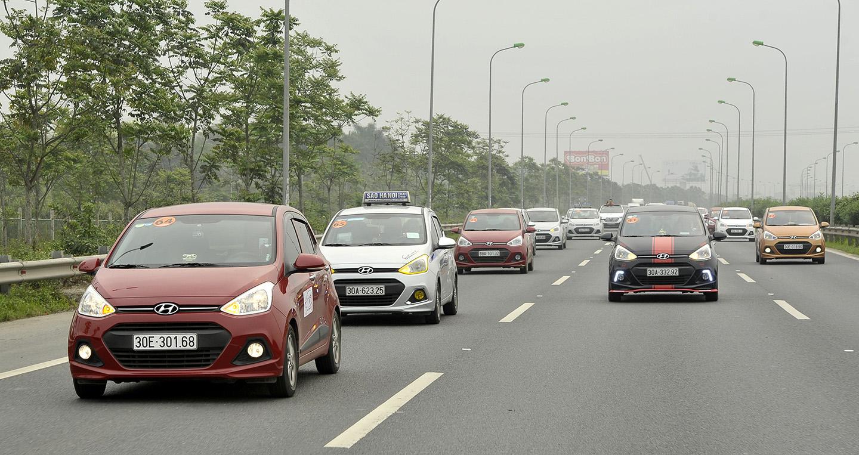 Tháng ngâu, doanh số Hyundai Grand i10 giảm nhẹ