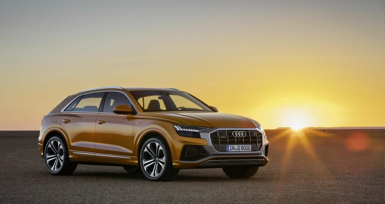 Audi Q8 2019 chốt giá từ 67.400 USD