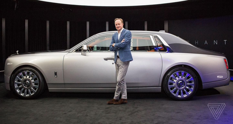 Hãng xe Trung Quốc thuê cựu giám đốc thiết kế của Rolls-Royce