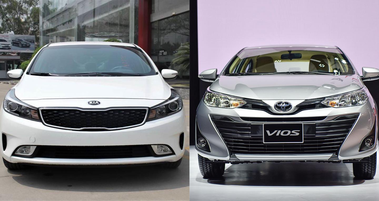 500 triệu, chọn Kia Cerato MT hay Toyota Vios MT?