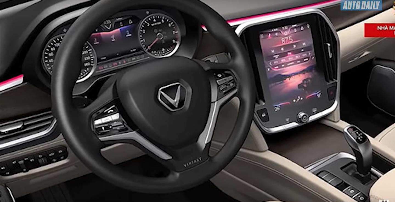 Nội thất xe VinFast thiết kế quá đẹp, như xe tiền tỷ