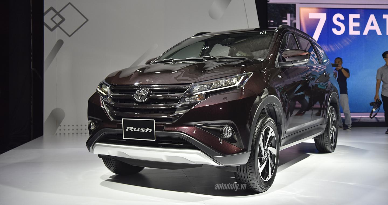 Tất tần tật về Toyota Rush 2018 giá 668 triệu đồng