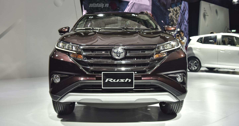 So sánh giá Toyota Rush 2018 tại Indonesia và Việt Nam