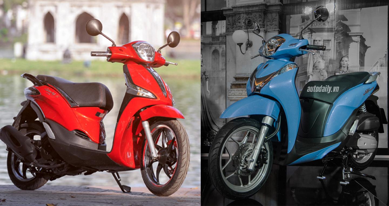 Nữ 25 tuổi, chọn Honda SH Mode hay Piaggio Liberty ABS?