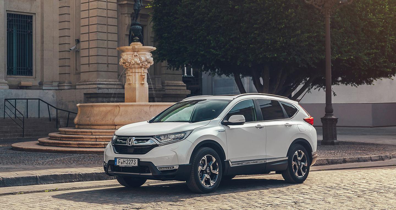 Honda CR-V Hybrid 2019 chính thức lộ diện