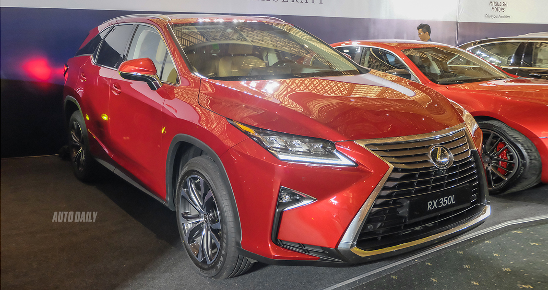 Lexus RX350L 2018 chính hãng chốt giá 4,09 tỷ đồng