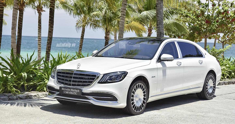 Sedan siêu sang Mercedes-Maybach S560 2018 giá 11,1 tỷ ra mắt