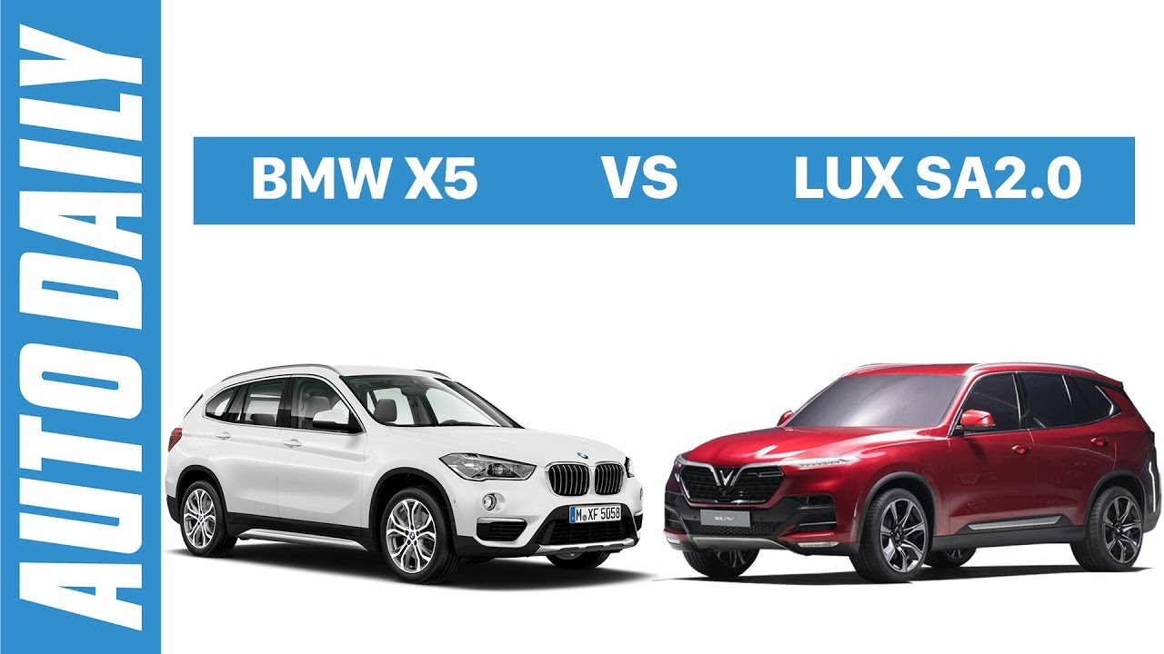 So sánh SUV VinFast với BMW X5