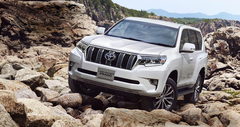 Toyota Land Cruiser Prado 2018 tăng giá 78 triệu đồng tại VN