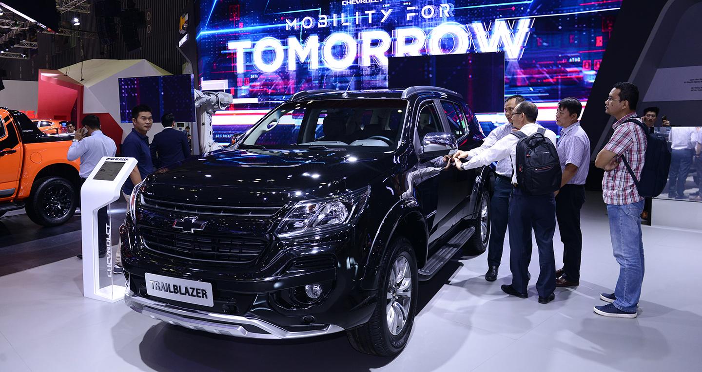 Chevrolet Trailblazer ngầu hơn với gói phụ kiện Perfect Black