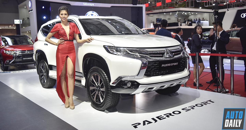 Toàn cảnh gian hàng Mitsubishi tại Vietnam Motor Show 2018