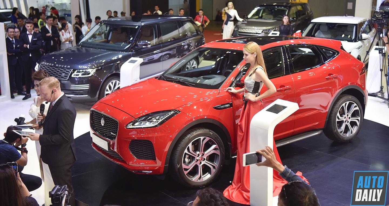 Jaguar E-Pace chào thị trường Việt Nam với giá từ 2,96 tỷ đồng