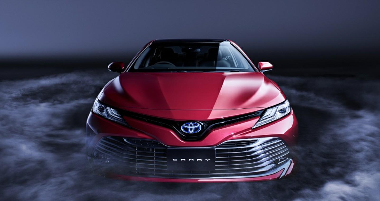 Toyota Camry 2019 sẽ lộ diện vào ngày 1/11