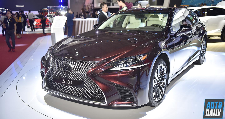 Chi tiết Lexus LS 500: Đối thủ sừng sỏ của Mercedes S-Class và BMW 7-Series