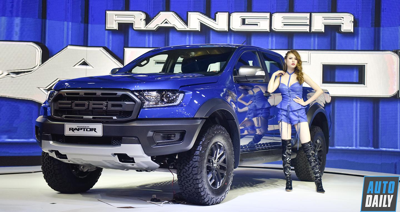 Giá lăn bánh Ford Ranger Raptor và Wildtrak chênh nhau 400 triệu