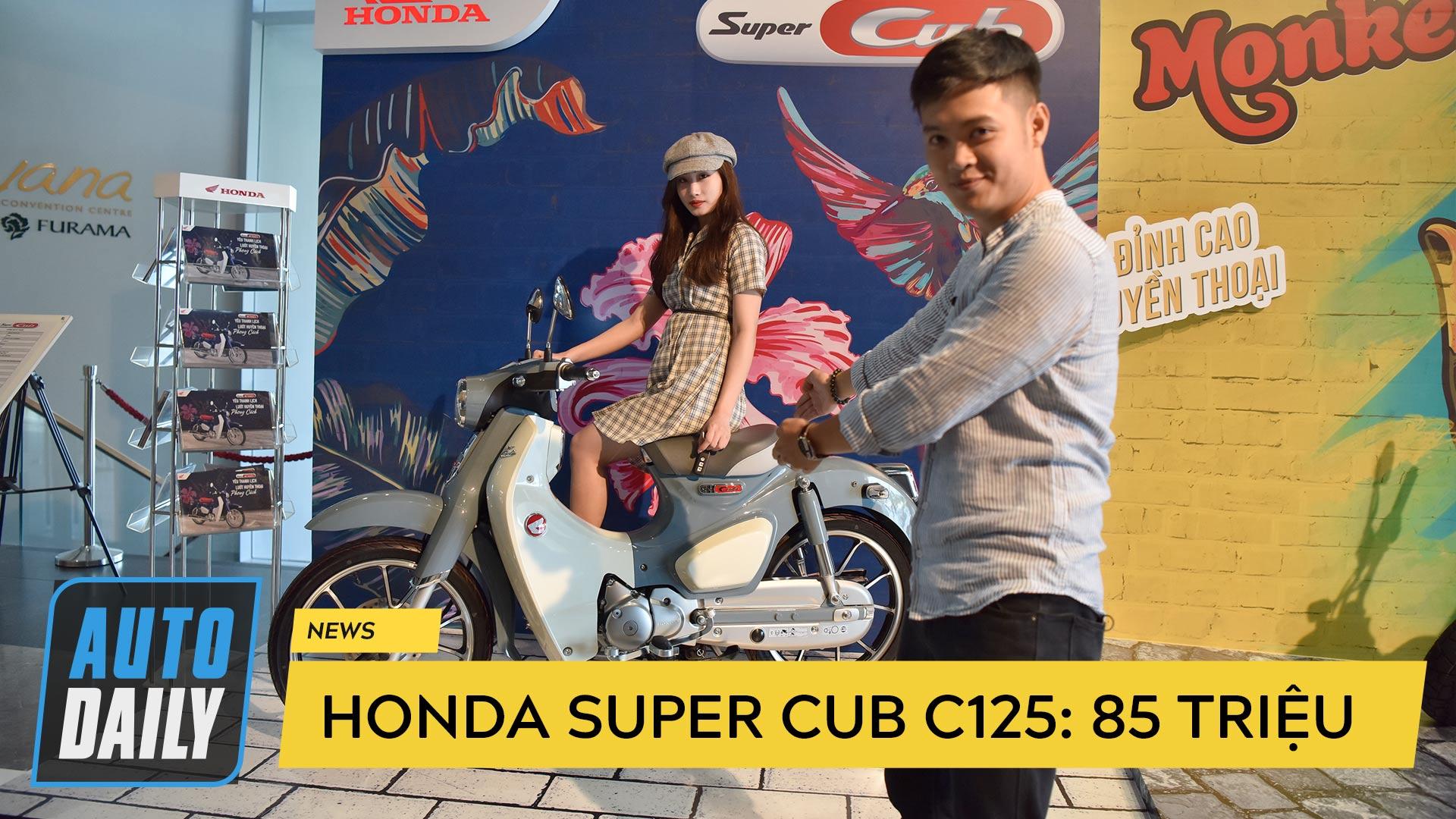 Chi tiết Honda Super Cub C125 giá 85 triệu đồng tại Việt Nam