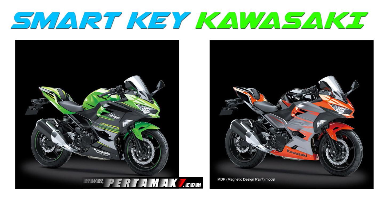 Kawasaki Ninja 250 2018 được trang bị hệ thống khóa thông minh