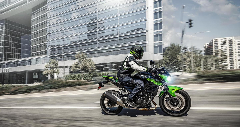 Kawasaki Z400 ABS 2019 có giá bán từ 149 triệu đồng tại Việt Nam