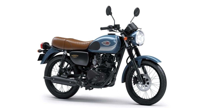 Xế hoài cổ Kawasaki W175 SE 2018 thêm màu mới