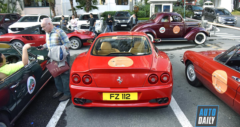 Ferrari 550 Maranello và 7 siêu xe cổ ghé thăm Việt Nam