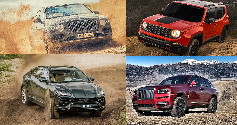 15 Crossover có khả năng off-road ấn tượng nhất hiện nay