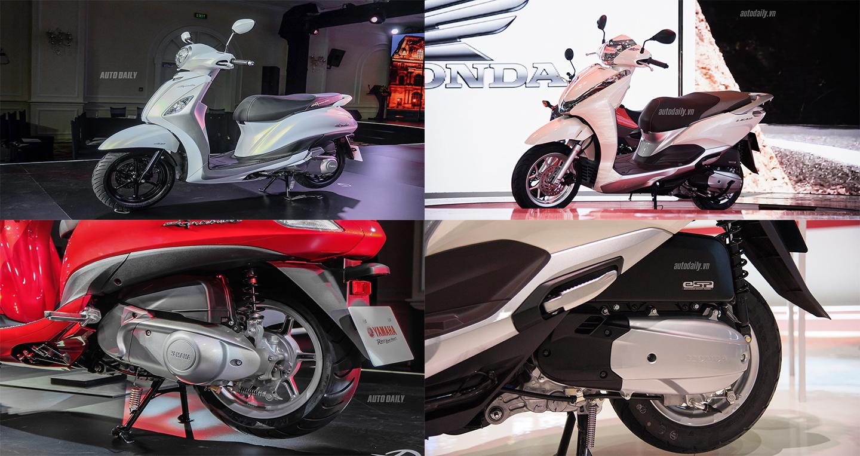 So sánh Yamaha Grande 2019 và Honda LEAD 2017