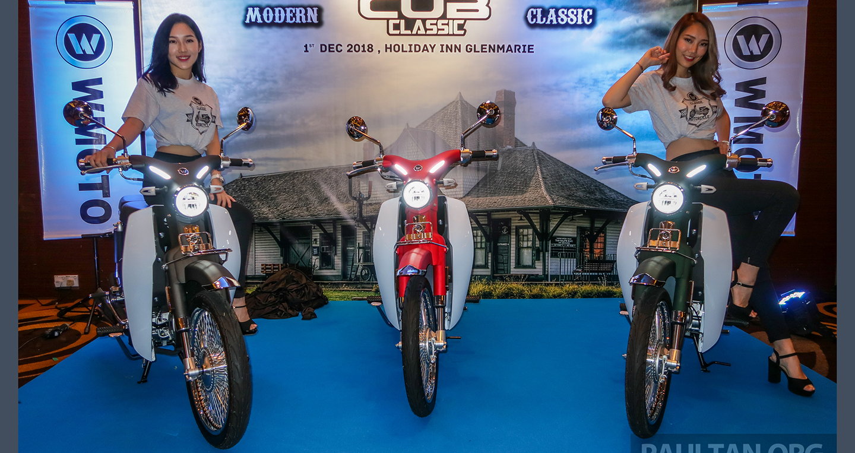 Xe giống Honda Super Cub C125 chốt giá từ 1.102 USD