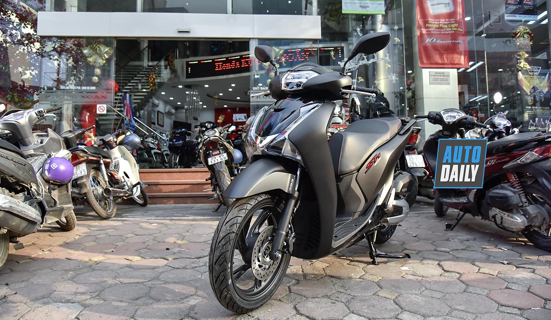 Honda SH 2019 đen mờ được đại lý báo giá gần 120 triệu