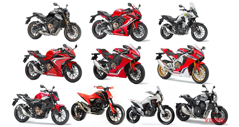 Điểm mặt loạt mô tô mới của Honda sắp về Việt Nam
